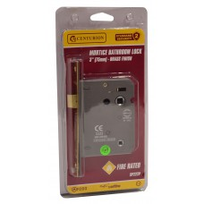 "75mm (3"") EB Mortice Bathroom Lock"