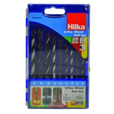 *TEMP OUT OF STOCK* Hilka 9pc Mixed Drill Set Pro Craft (49990009)