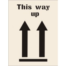 This Way Up Stencil (190 x 300mm)