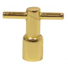 Polished Brass Meter Box Key
