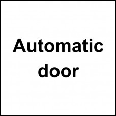 Automatic door - SAV (150 x 150mm)