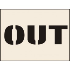 Out Stencil (300 x 400mm)
