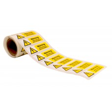 Warning more than one point of isolation - 250 Roll SAV (75 x 25mm)