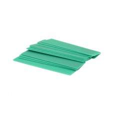 1mm x 28mm x 100mm Green Flat Packers (Pack of 20)