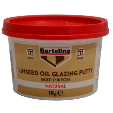 Bartoline 1kgTub Multi Purpose Linseed Oil Putty