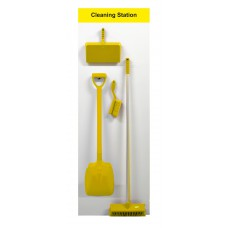 Shadowboard - Cleaning Station Style A (Yellow)