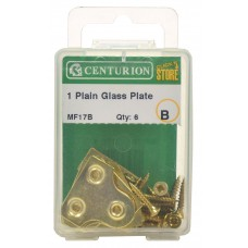 25mm EB Plain Glass Plate (Pack of 4)