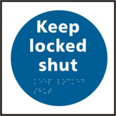 Keep locked shut - Taktyle (150 x 150mm)