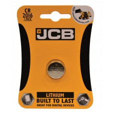 JCB - CR2016 Coin Cell Battery