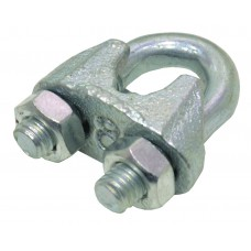 3mm Galvanised Wire Rope Grips