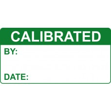 Calibrated - Labels (50 x 25mm Roll of 250)