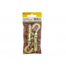 M6 Expanding Hook Bolt  (Pack of 2)