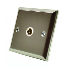 Stainless Steel Single Co Axial Socket