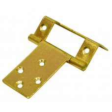 "16mm (5/8"") EB Single Cranked Flush Hinge (1 pair)"