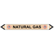 Flow Marker - Natural Gas (Yellow Ochre - 5 pack)