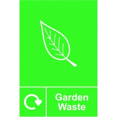 Recycling: Garden Waste - SAV (150 x 200mm)