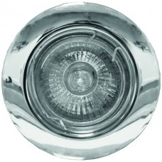 Recessed Downlight - GU10 Fixed Polished Chrome x 3