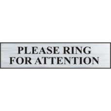 Please ring for attention - BRS (220 x 60mm)