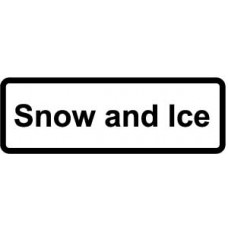 Supplementary Plate 'Snow and Ice' - ZIN (685 x 275mm)
