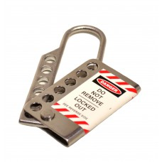 25mm Stainless Steel Lockout Hasp - Nickel Plated