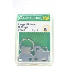 35mm NP Large Picture D Rings (Pack of 2)