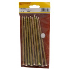 7.5mm x 152mm Concrete Frame Screws (Pack of 10)