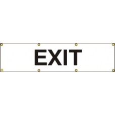Exit - (with seperate arrow) BAN (1200 x 300mm)