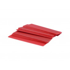 6mm x 28mm x 100mm Red Flat Packers