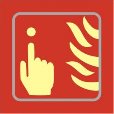 Fire alarm graphic - TaktylePh (150 x 150mm)