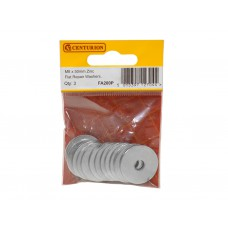 M8 x 50mm ZP Flat Repair Washers (Pack of 3)