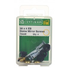 38mm x 8 EB Dome Mirror Screws (Pack of 4)