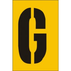 50mm Stencil - Character 'G'