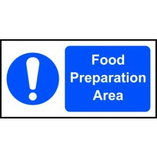 Food preparation area - SAV (200 x 100mm)
