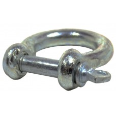 8mm Galvanised Bow Shackle
