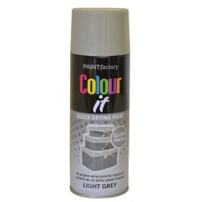 400ml Light Grey Gloss Paint (DGN)