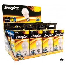 Energizer - LED Bulb - GLS 5.6W 470LM B22 Warm White