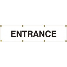 Entrance - (with seperate arrow) BAN (1200 x 300mm)