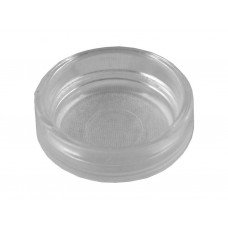45mm Clear Medium Castor Cups