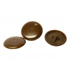 Brown Pozi Screw Cover Caps
