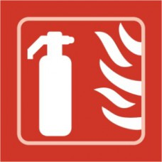 Fire extinguisher graphic - Taktyle (150 x 150mm)