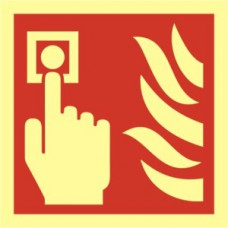 Fire alarm symbol - PHO (100 x 100mm)