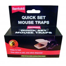 Rentokil - Mouse Trap - Quick Set Twin - FQ26
