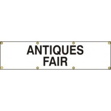 Antiques fair - (with seperate arrow) BAN (1200 x 300mm)