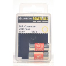 30 Amp Consumer Unit Fuse (Pack of 2)