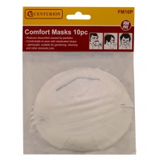 White Comfort Mask (Pack of 10)