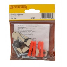 4 Part NP Adjustable Mirror Clips Set