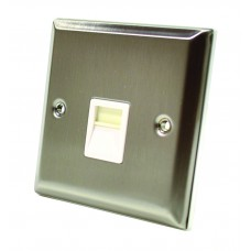 Stainless Steel Master Telephone Socket