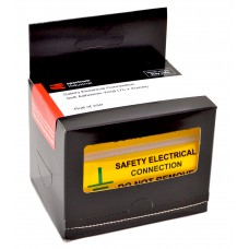 Safety Electrical Connection Do Not Remove - 250 Roll SAV (75 x 25mm)