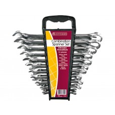 14pc CV Combination Spanner Set 6-26mm - Polished Head