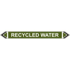 Flow Marker - Recycled Water (Green - 5 pack)